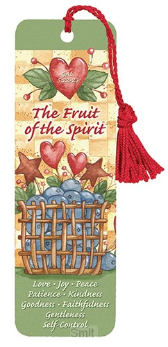 Bookmark fruit of the spirit set3