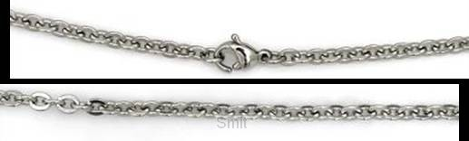 Stainless steel anchor style chain 42cm