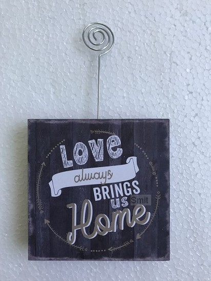 Love always brings us home
