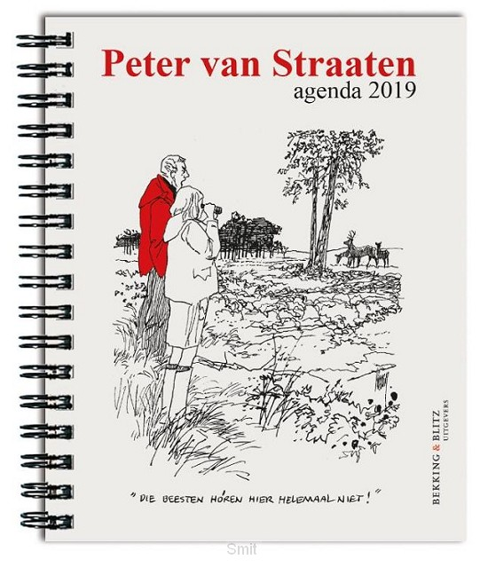 Peter van Straaten weekagenda 2019