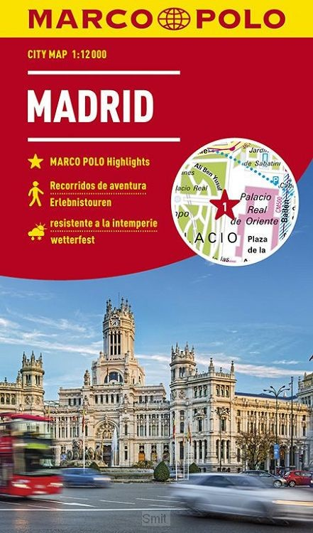 MARCO POLO Cityplan Madrid 1:12 000