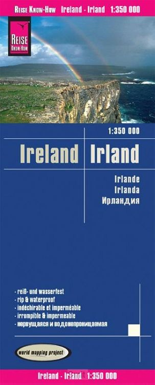 Reise Know-How Landkarte Irland 1 : 350.000