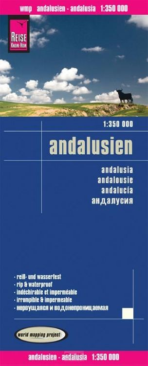 Reise Know-How Landkarte Andalusien 1:350.000