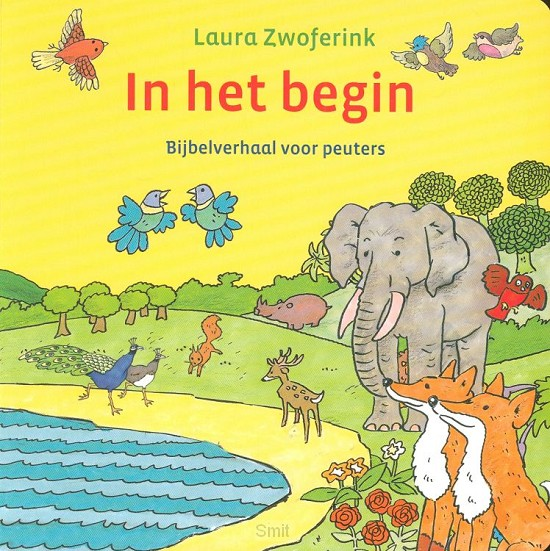 In het begin kartonboek
