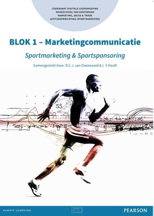 BLOK 1 - Marketingcommunicatie / Sportmarketing & Sportsponsoring