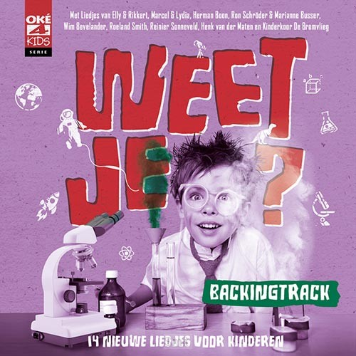 Weet je? BACKINGTRACK cd