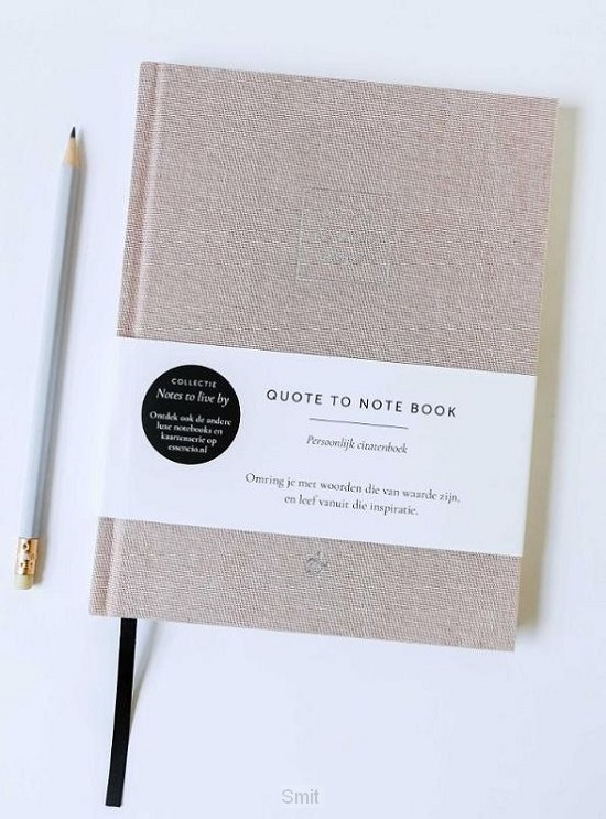 Quote To Note Book